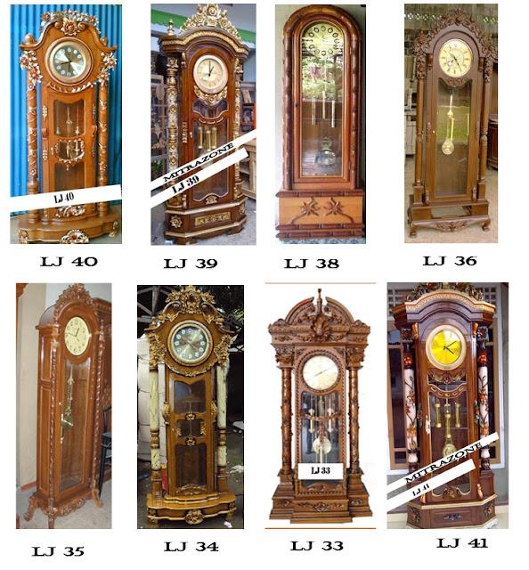 floor clock with storage