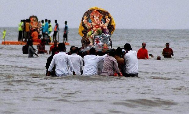 ganapati visarjan 2016 image