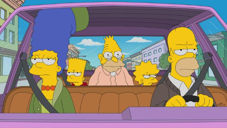 The Simpsons - Episode 29.05 - Grampy Can Ya Hear Me - Promotional Photos & Press Release