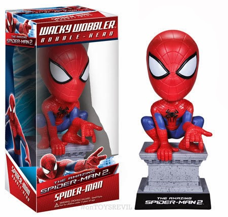 The Amazing Spider Man 2 Pop Vinyls Amp Wacky Wobblers From