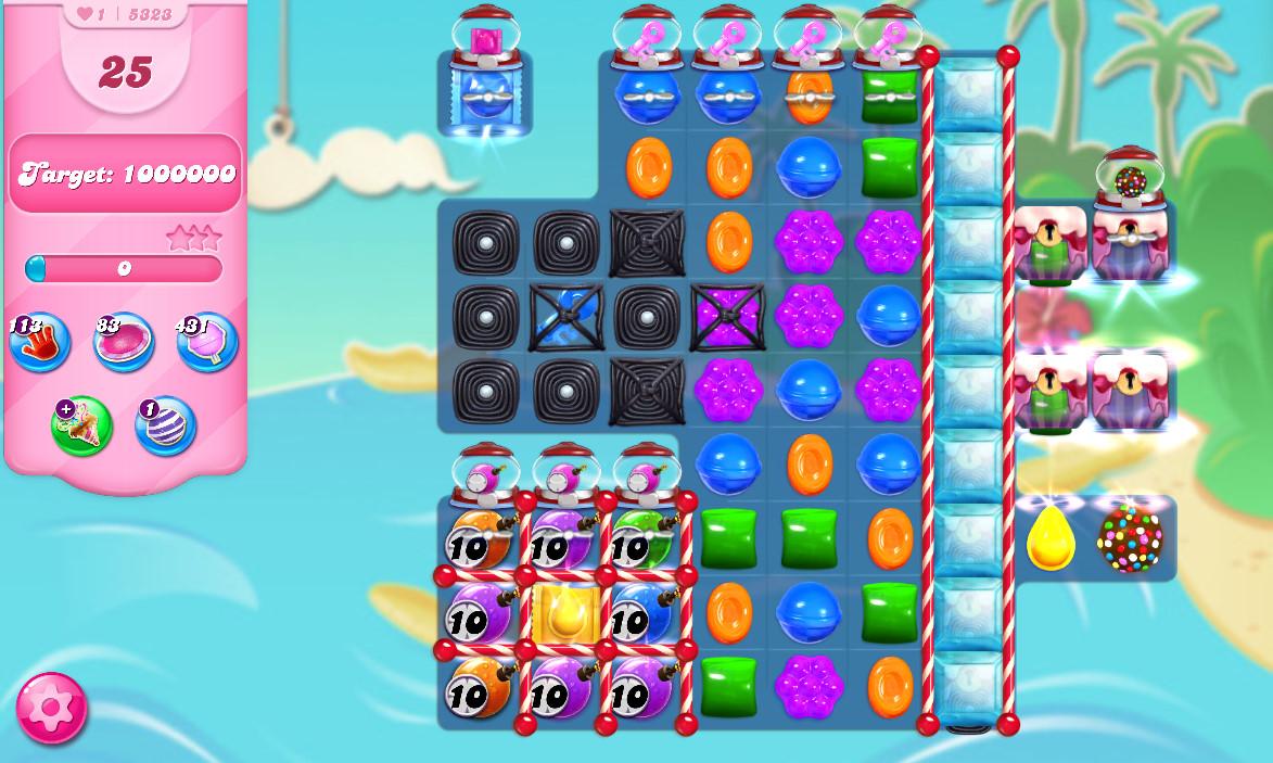 Candy Crush Saga level 5323