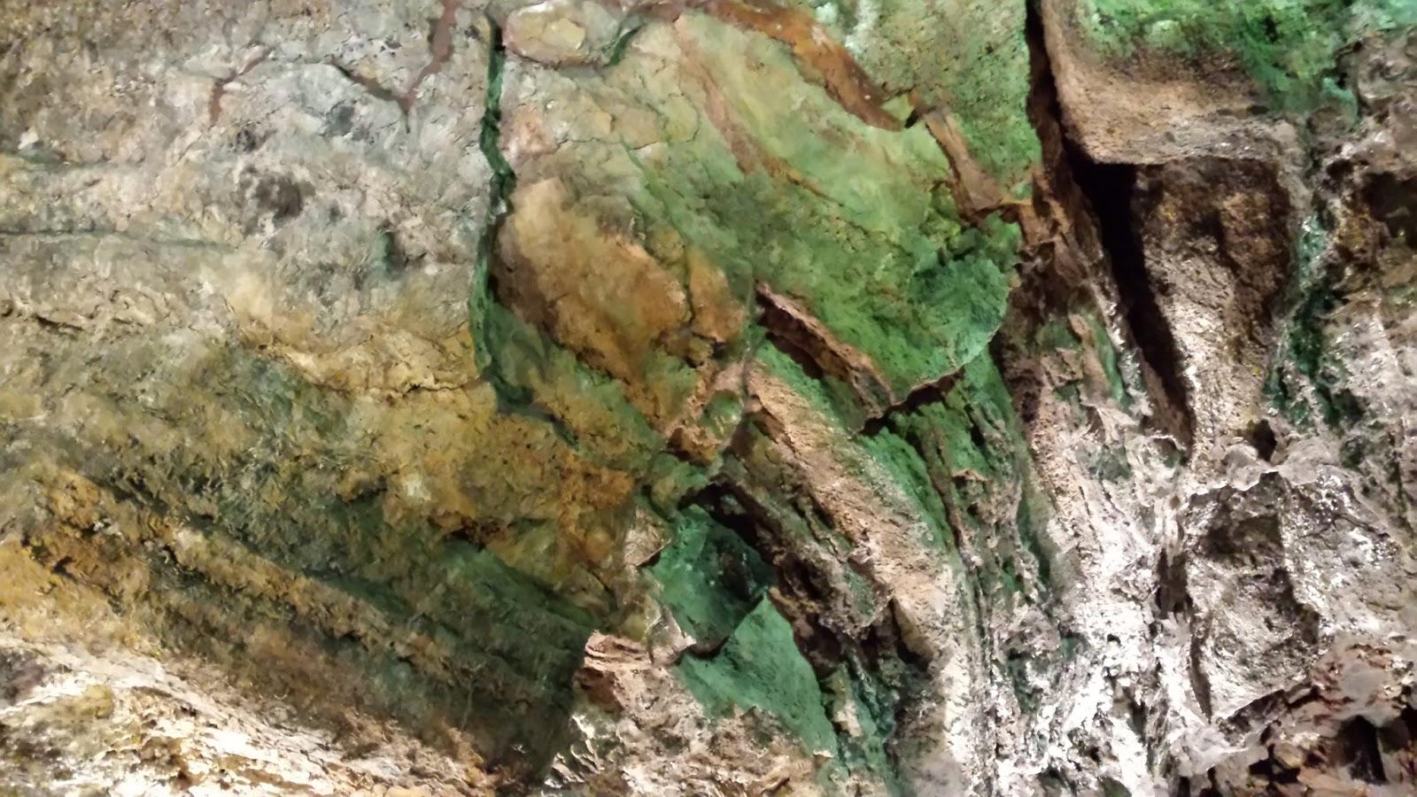 wulkaniczna jaskinia Cueva d elos Verdes, Lanzarote, Hiszpania, Wyspy Kanaryjskie