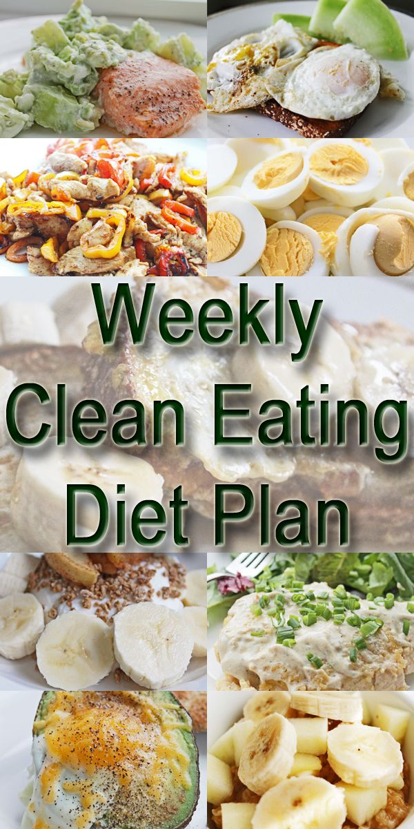 Clean Eating Diet Plan Meal Plan and Recipes