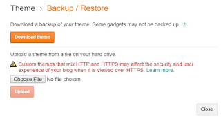3. Before changing code its recommended to keep a backup of your template.