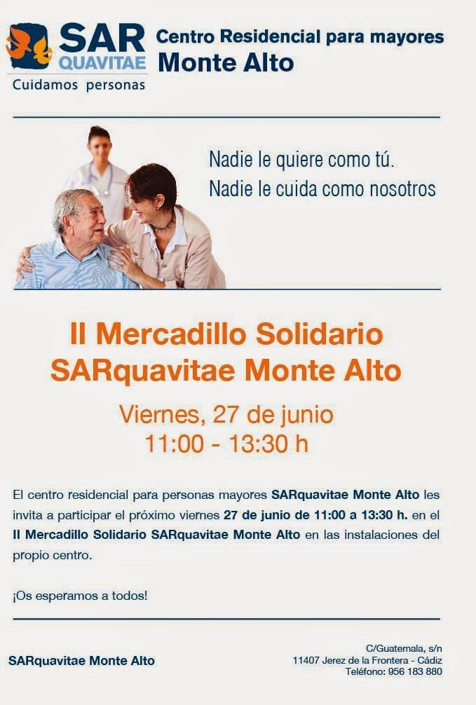 Spiral Personal participará en el II  Mercadillo Solidario Sarquavitae Montealto, Os esperamos!!!