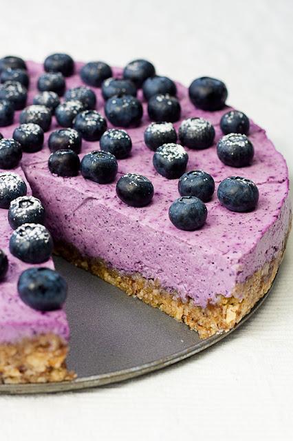 Bezglutenski cheesecake sa borovnicama
