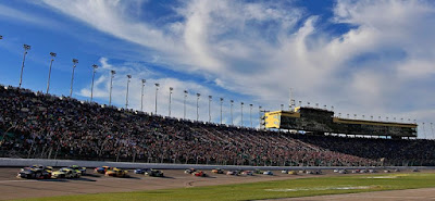 #NASCAR #MENCS Kansas Speedway Facts