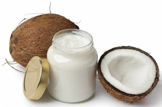 coconut and almond oil