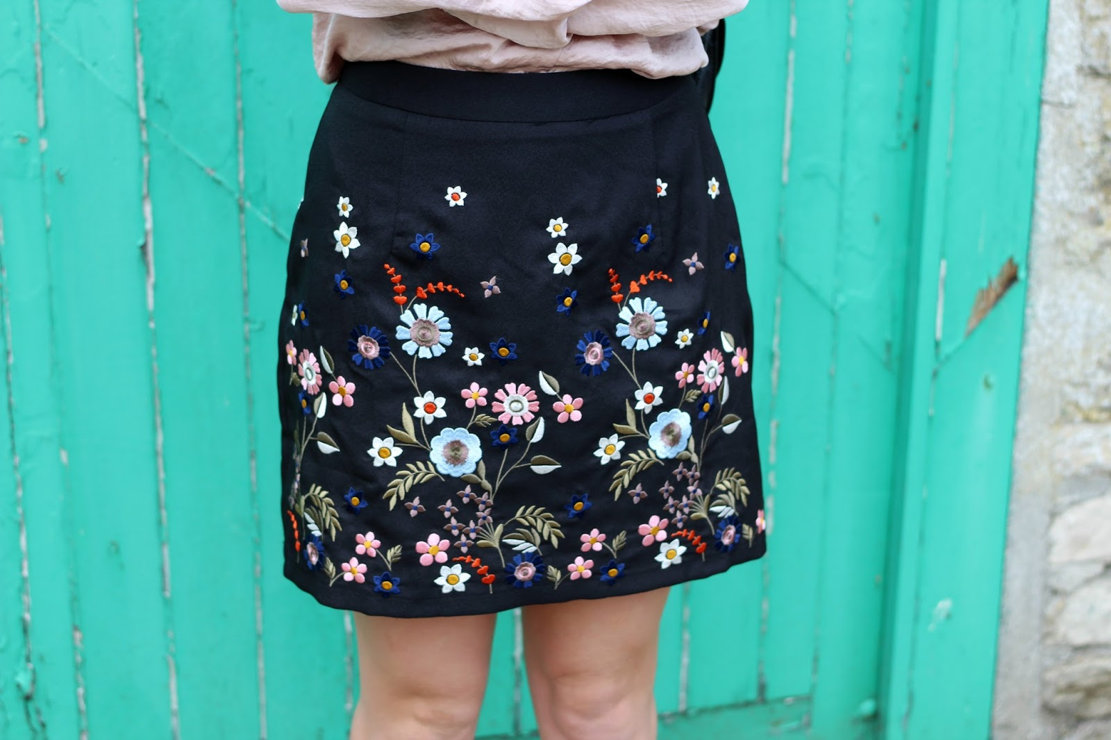 New-Look-embroidered-skirt