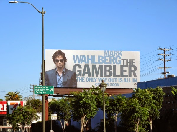 Gambler movie teaser billboard