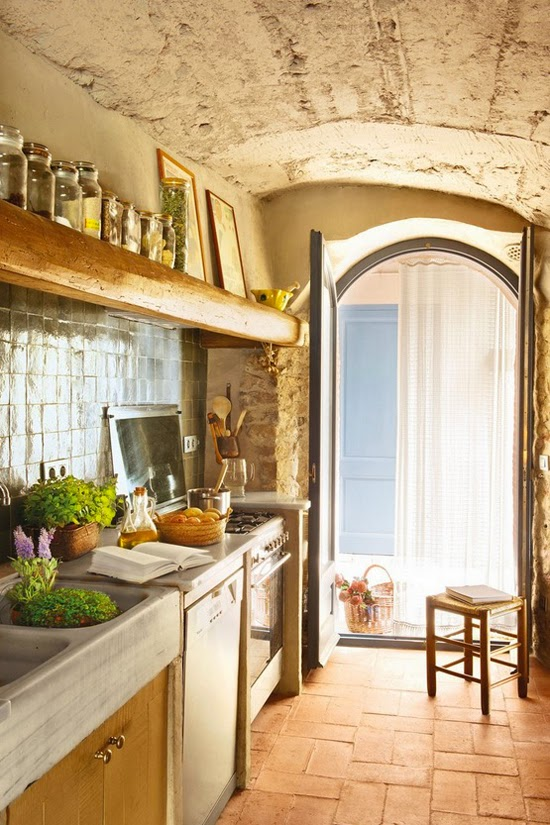 Kitchen inspiration and lovely links cool chic style - Casas de campo decoracion interior ...