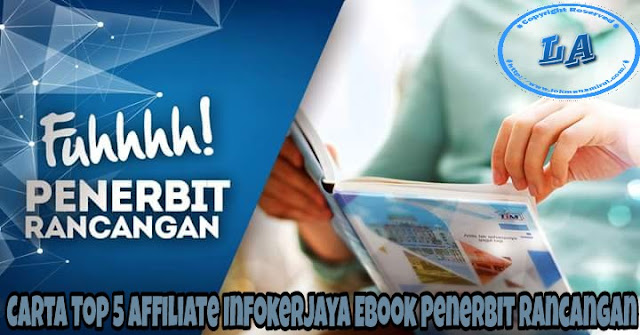 Carta Top 5 Affiliate Infokerjaya Ebook Penerbit Rancangan