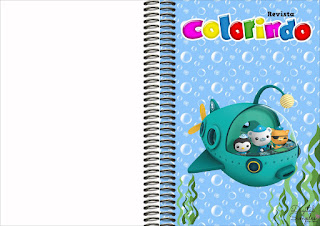The Octonauts  Free Printable Cloring Book