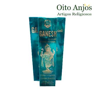 Incenso Ganesh - Oito Anjos Artigos Religiosos e Loja Esotérica