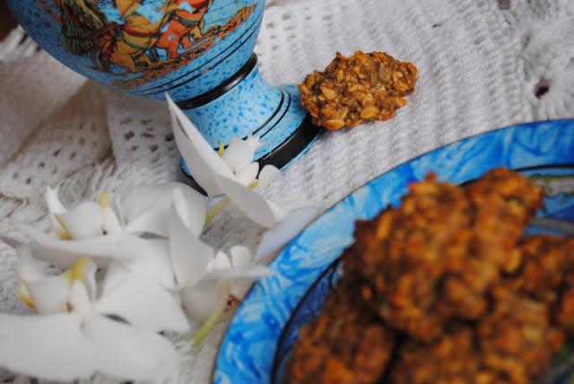sezamowe ciastka