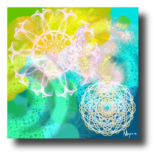 Arte pintura digital de Nia Mayuskimbé