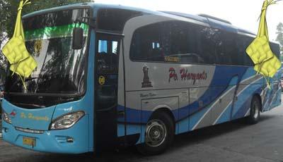 Harga Tiket Mudik Lebaran 2017 Bus Haryanto Jurusan Kudus, Jepara, Pati, Madura, Wonogiri, Pacitan