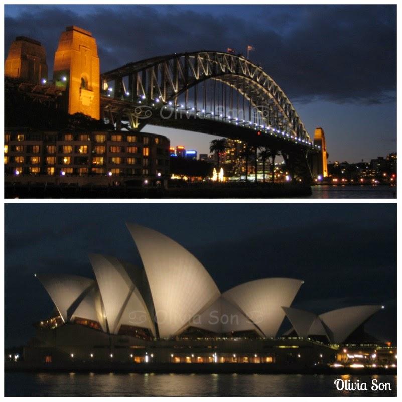 Sydney Harbour Bridge - Sydney Opera House, Sydney, Australie