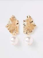 River Island Pearl earrings