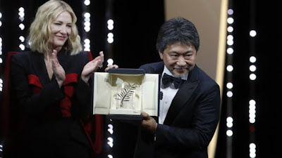 Cannes 2018 Palme D'Or winner Hirokazu Koreeda