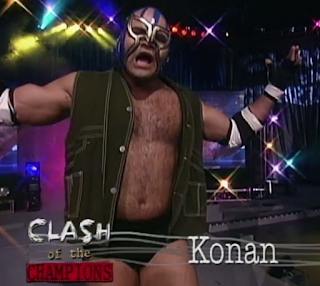 WCW Clash of the Champions 33 1996 REVIEW - Konan beat Ultimo Dragon