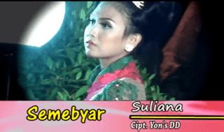 Lirik Lagu Semebyar - Suliana
