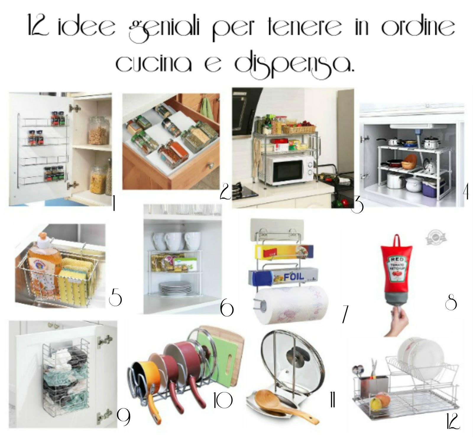 12 Organizer per tenere in ordine cucina e dispensa  donneinpink magazine