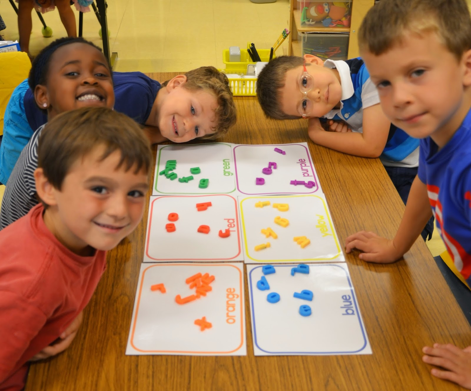 A Place Called Kindergarten Simple Sorting Mats