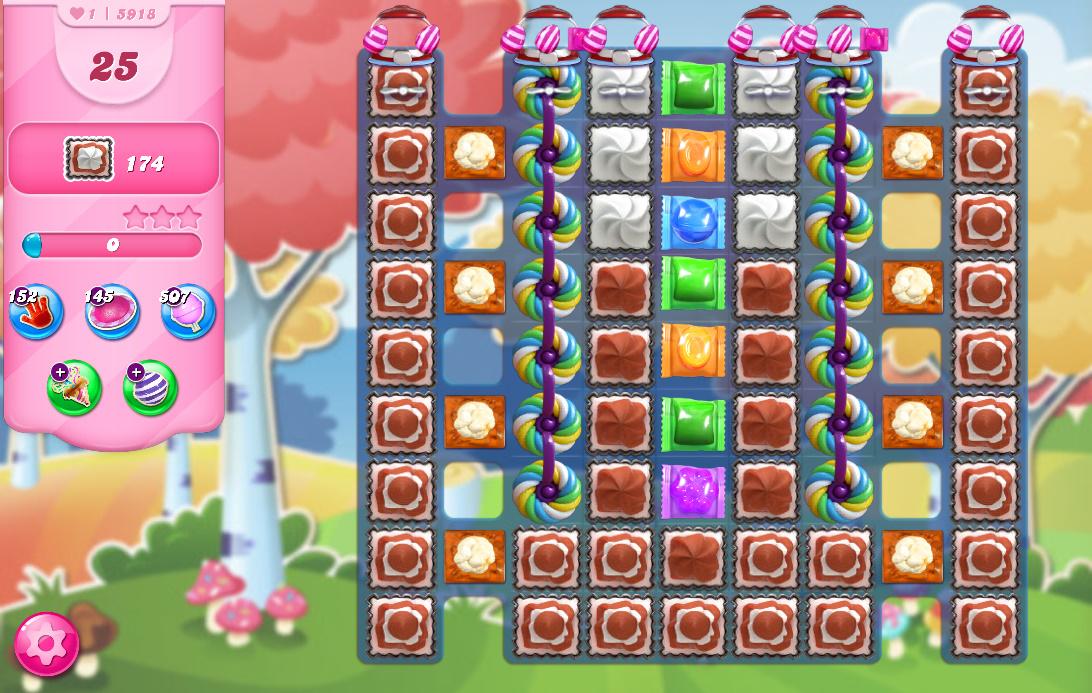 Candy Crush Saga level 5918