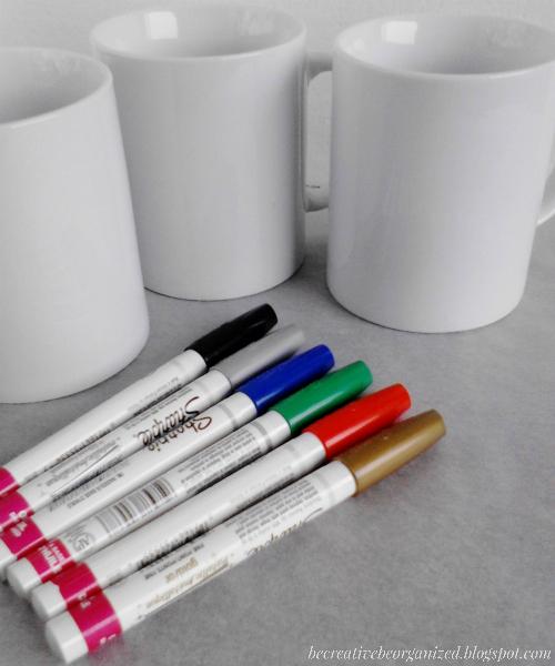 Ocrtavanje šolje markerima