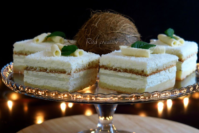 kokosowe ciasto