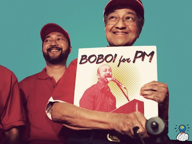 Mahathir Anak Beranak Akan Guna Logo DAP?! #TolakPakatan #BetterNation #KekalNajib