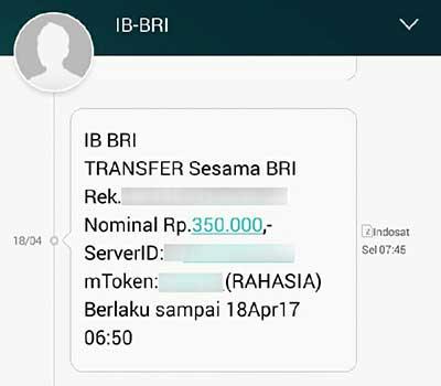 Sampai Kapan Internet Banking BRI Bertahan Menggunakan SMS m-Token?
