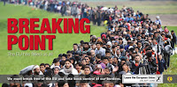 "UK Independence Party pro-Brexit poster features ""Syrian refugees being escorted along the Slovenian border during the migrant crisis last October. (Credit: UKIP) Click to Enlarge."