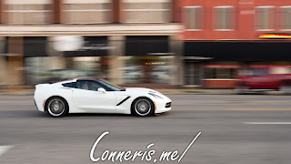 Chevrolet C7 Corvette White