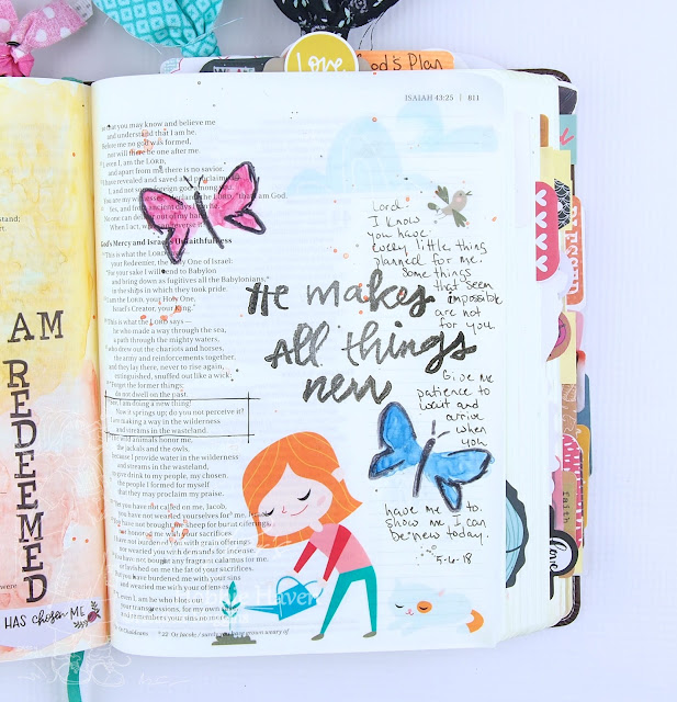 Heather's Hobbie Haven - Illustrated Faith - All Things New
