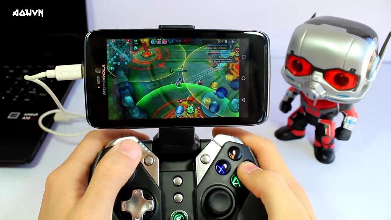 AowVN Gamepad%2B%25283%2529 - Tổng hợp những tay cầm chơi game nên mua cho điện thoại | Gamepad Android & IOS