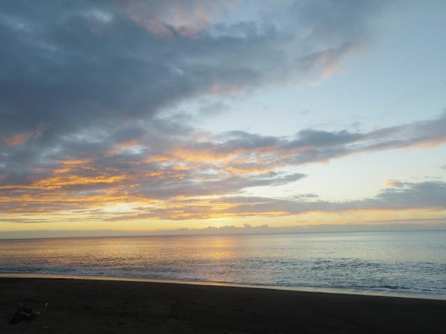 Sunset in Sta. Ana, Cagayan