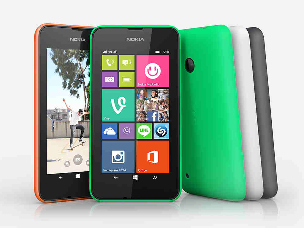 Nokia Lumia 530, available in the PH for Php 4,990