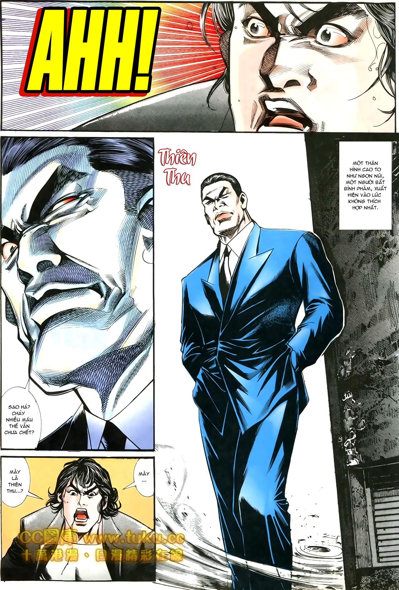Người Trong Giang Hồ chapter 197: quạ đen báo thù trang 17