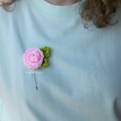 flor de crochet fácil