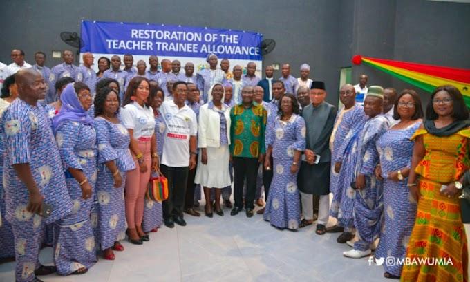 """Thank You Mr President"" -Teacher Trainees Honour President Akufo-Addo"