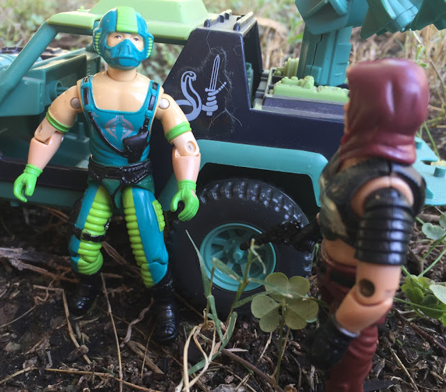 1984 Zartan, Copperhead, Stinger, Sears Exclusive, Dreadnok