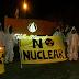 Protestaron contra la central nuclear donde se reunía el Consejo Federal de Medio Ambiente