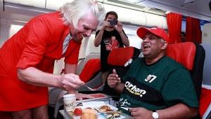 Branson Air hostess