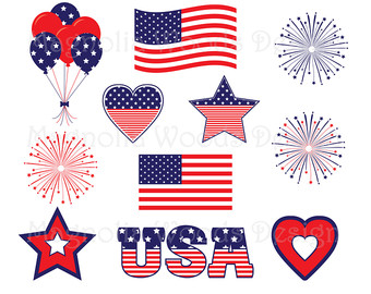4th of July Clip Art 2017
