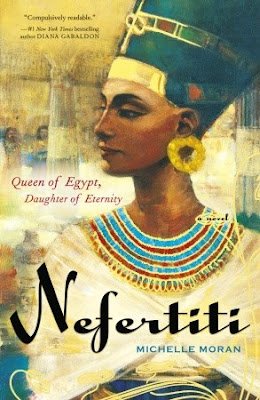 Nefertiti by Michelle Moran is an historical fiction based during 1300s BC in egypt obviously following the life of Nefertiti.  It is told from her sister's point of view so it is slightly similar to The Other Boleyn Girl.  Good audiobook.  Good historical fiction, but do know that fiction is definitely part of this book.  Egypt, adult lit, clean read, fun read, Alohamora Open a Book http://alohamoraopenabook.blogspot.com/
