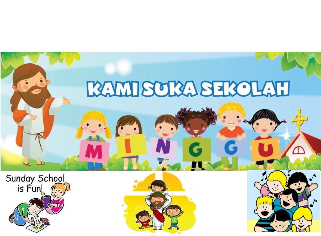 Gambar Anak Sekolah Minggu Kartun Nusagates