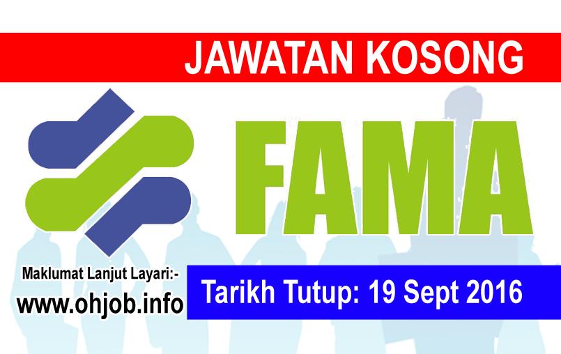 Jawatan Kerja Kosong Lembaga Pemasaran Pertanian Persekutuan (FAMA) logo www.ohjob.info september 2016