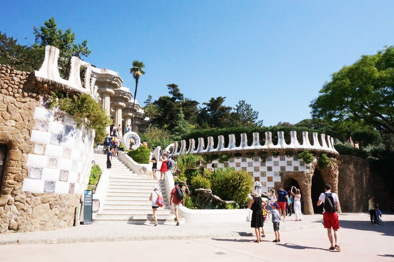 Parc Guell, zone monumentale